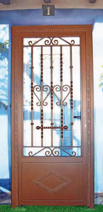 Q acero puertas de forja - Puertas forja exterior ...